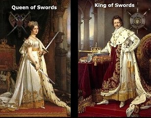 King and Queen of Swords